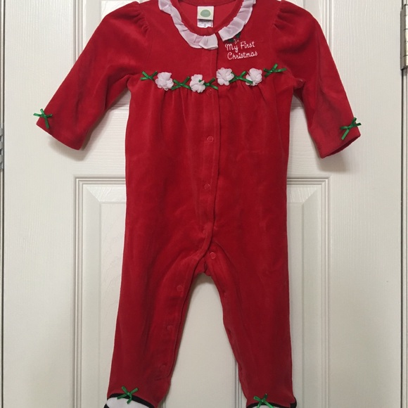 Little Me Other - My 1st Christmas - Size 9 Month